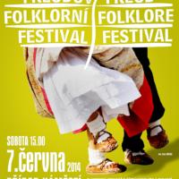 Freudův Folklórní Festival (plakat 2014)